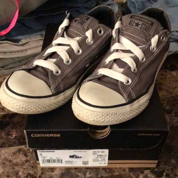 Converse Other - Worn 2 times Converse for kids